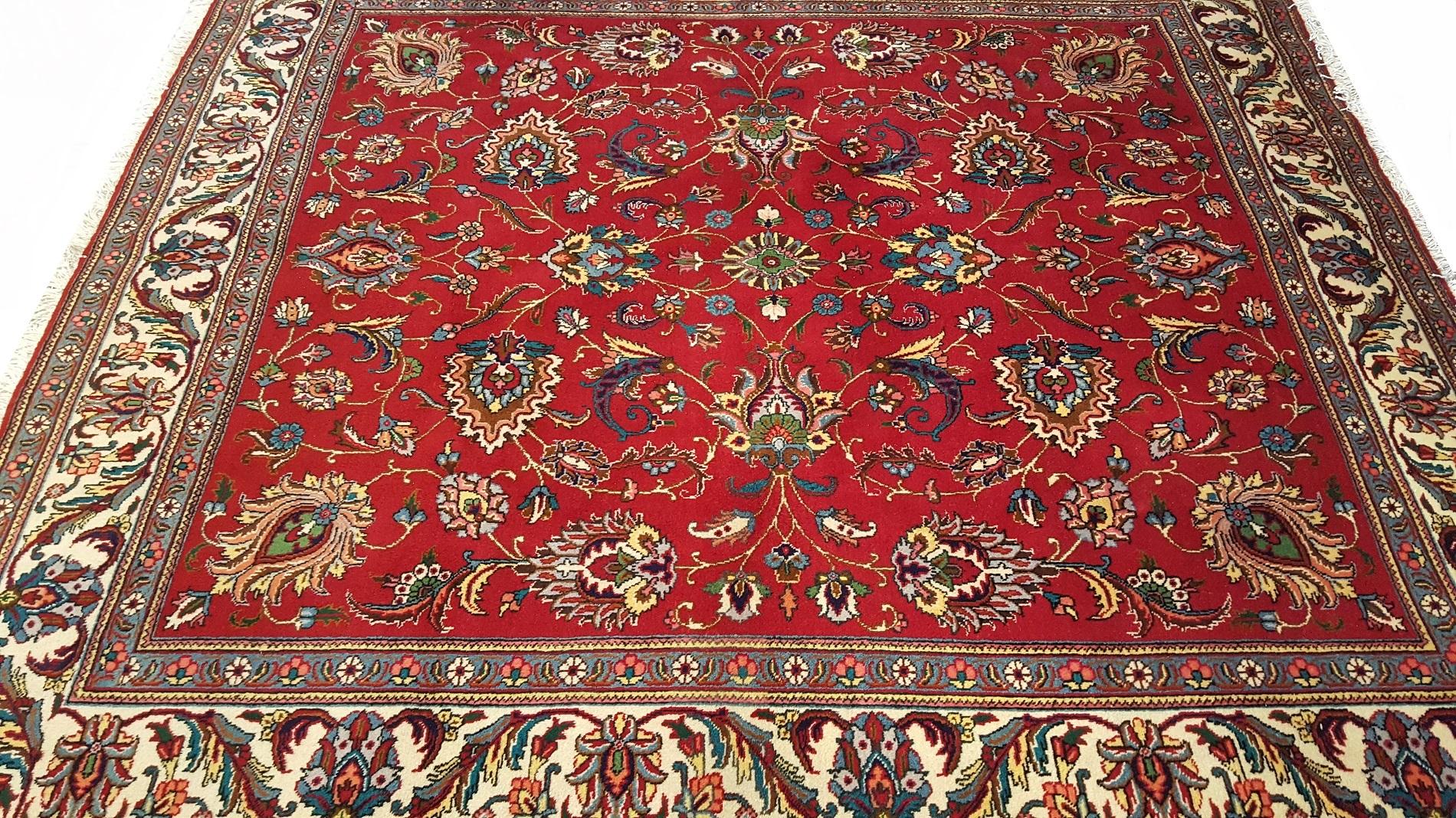 Reinigen Perzisch Tapijt : Tabriz perzische tapijt simatapijten